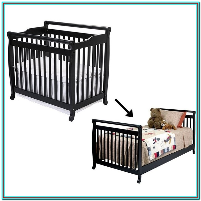 cribs that turn into beds instructions