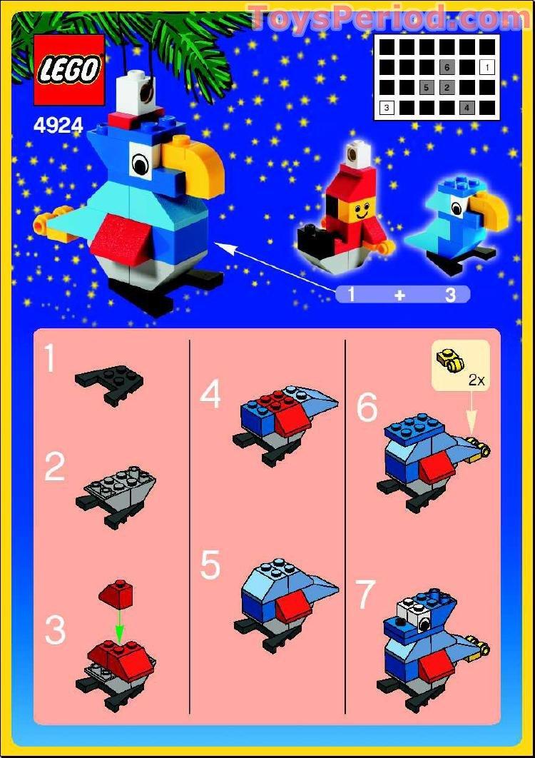 lego advent 2013 instructions
