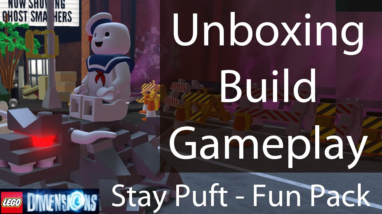 stay puft lego instructions