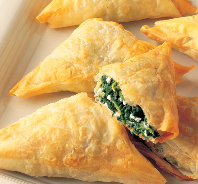 cooking instructions for costco spanakopita