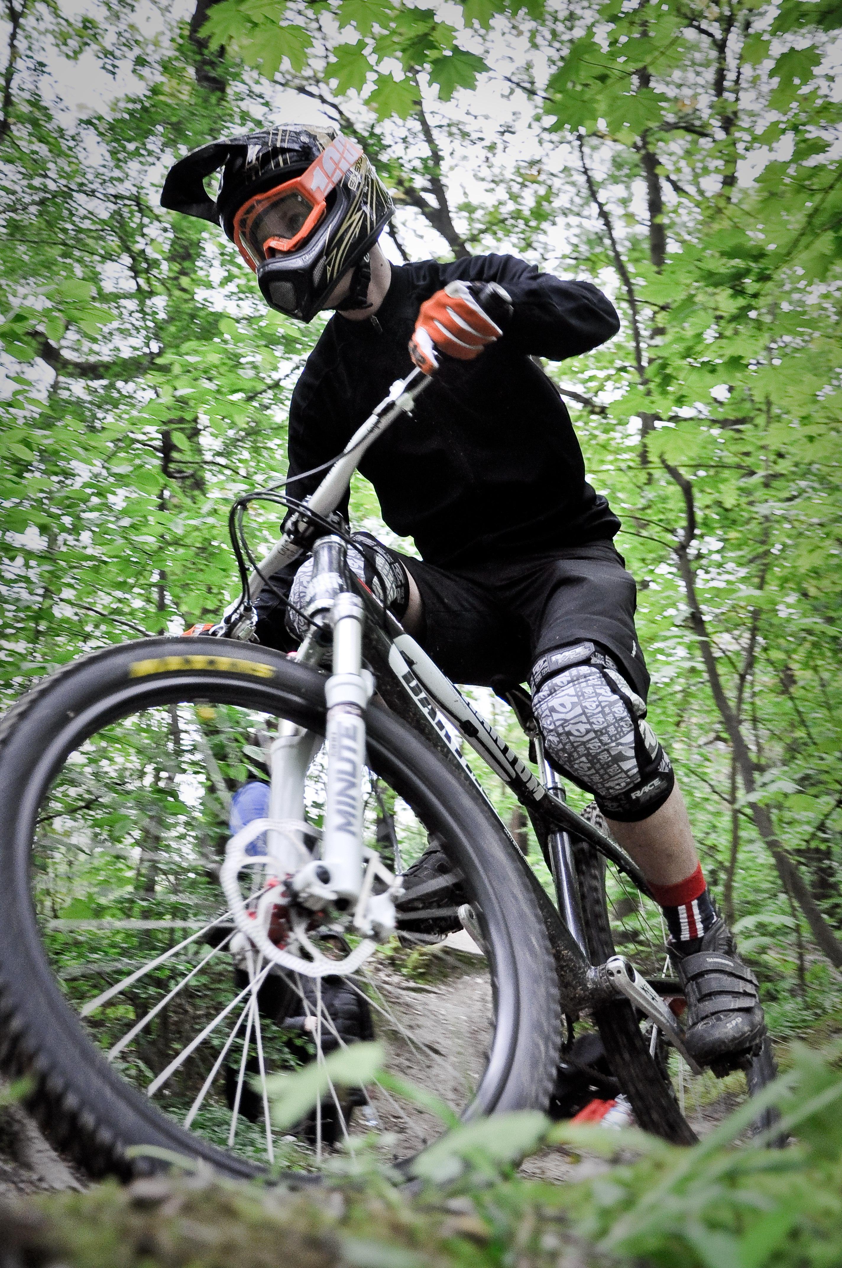 cross country bike riding instruction