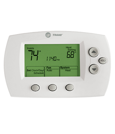 trane xl800 thermostat instructions