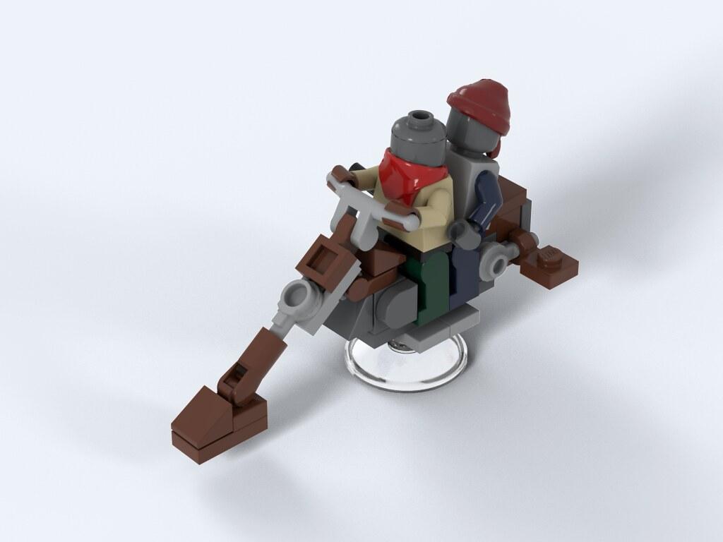 lego movie pirate instruction