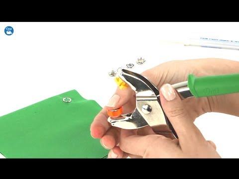 snap button pliers instructions