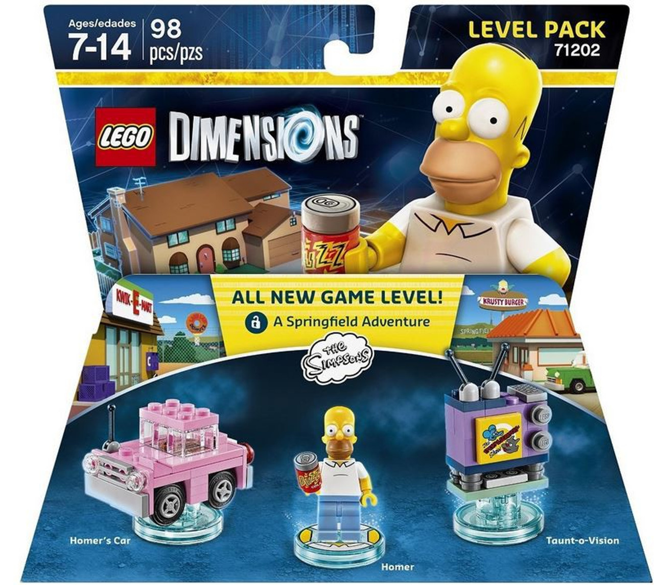 lego dimensions homer instructions buzz cola