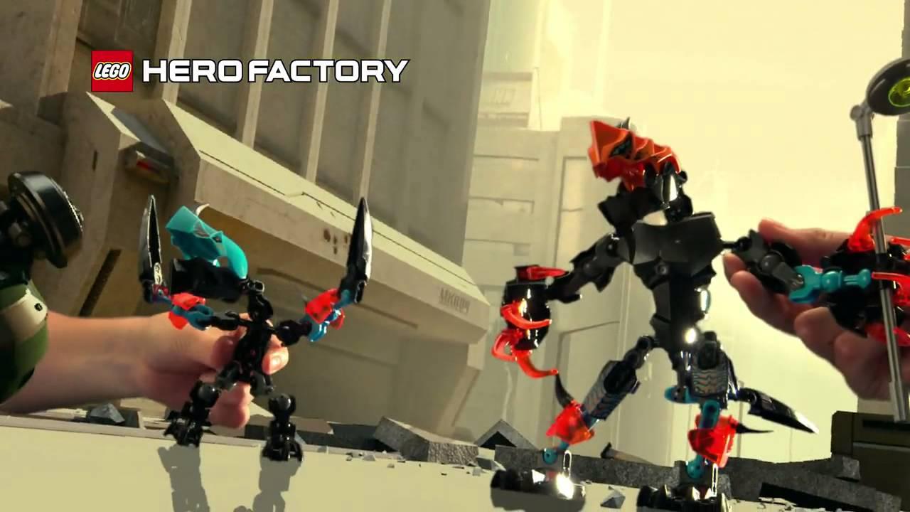 lego hero factory splitter beast instructions