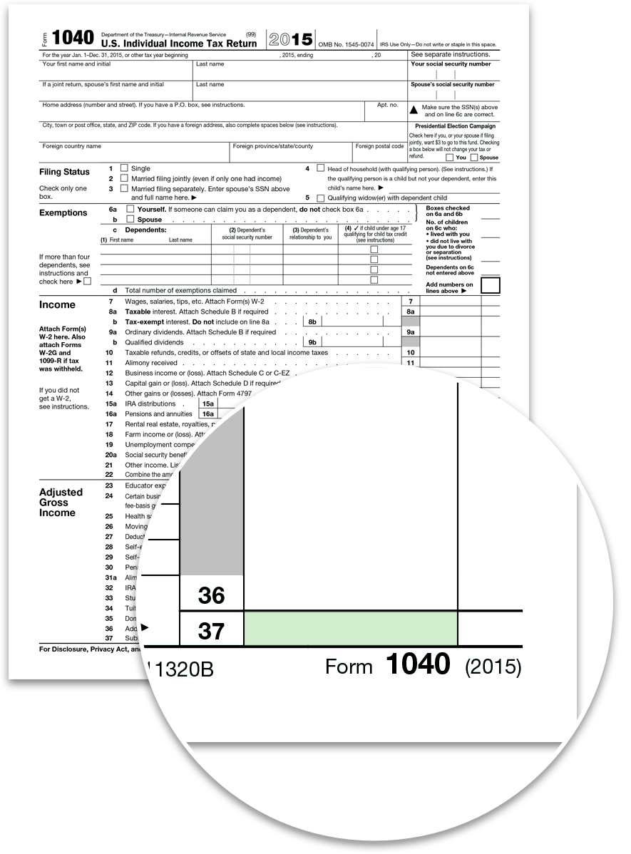 1040 instructions 2015 tax year