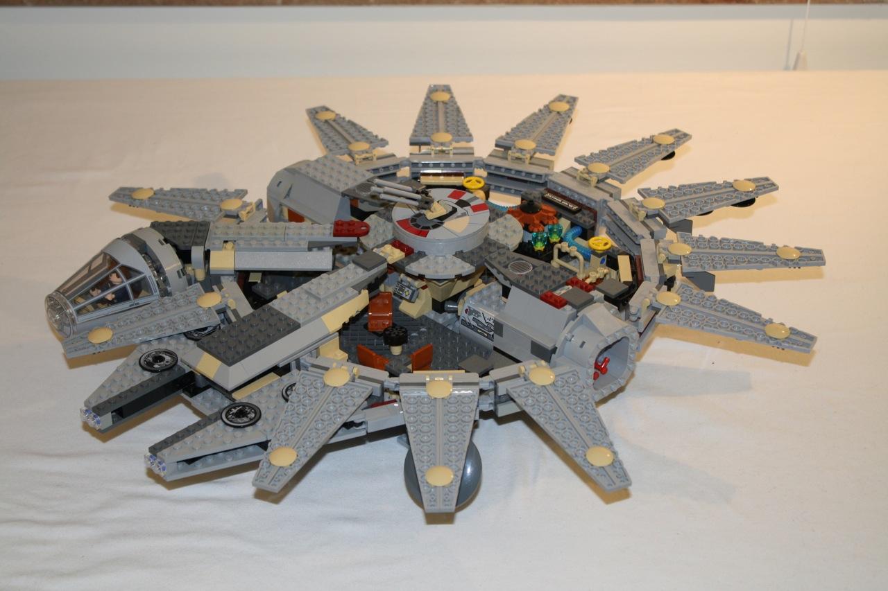 4504 millennium falcon instructions