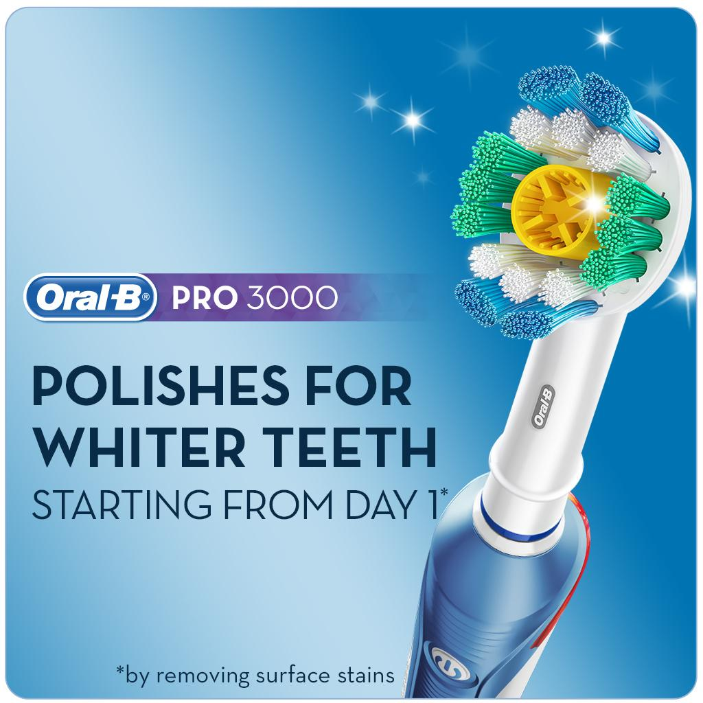 oral-b and electric and instructions