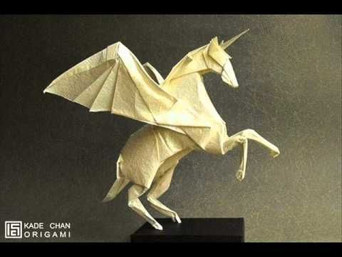 instructions for 3d origami dragon