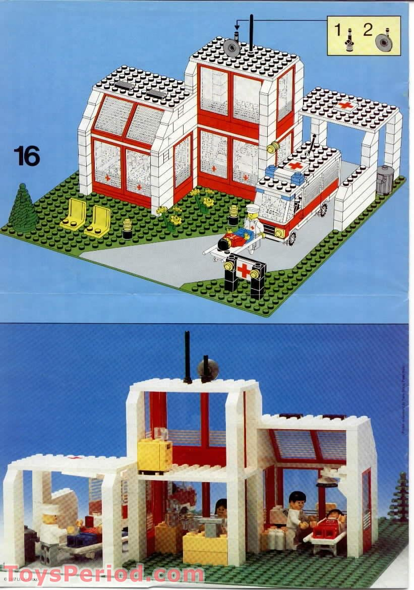 lego classic town instructions