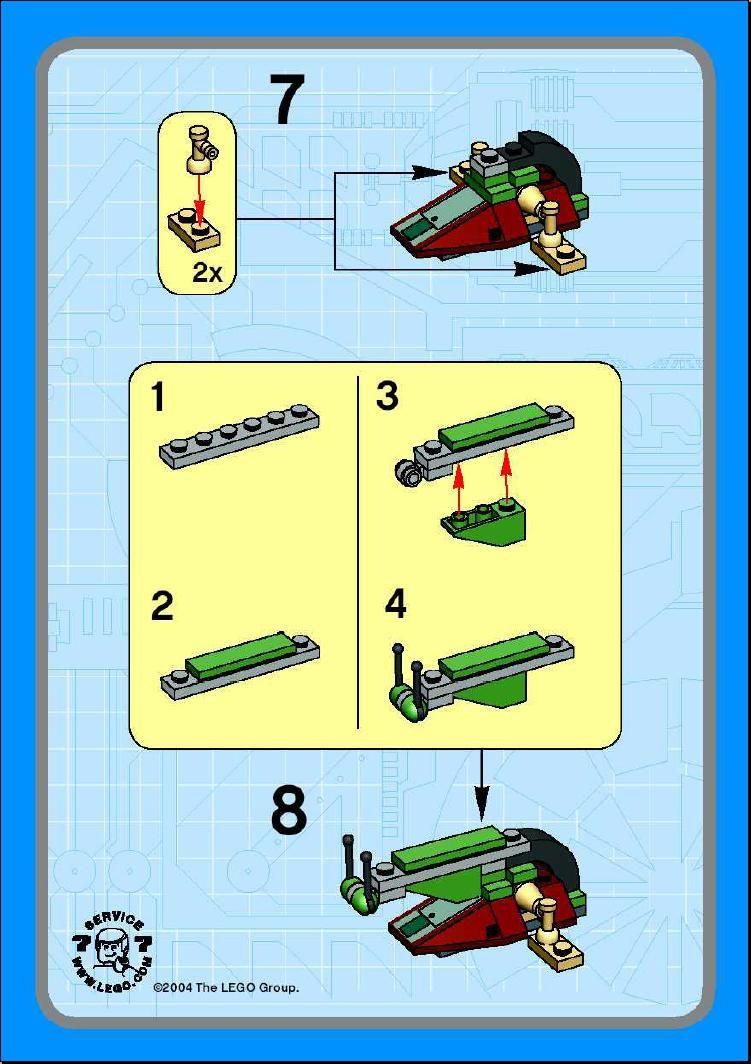 lego mini abrams instructions