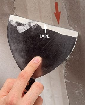 sheetrock paper joint tape instructions