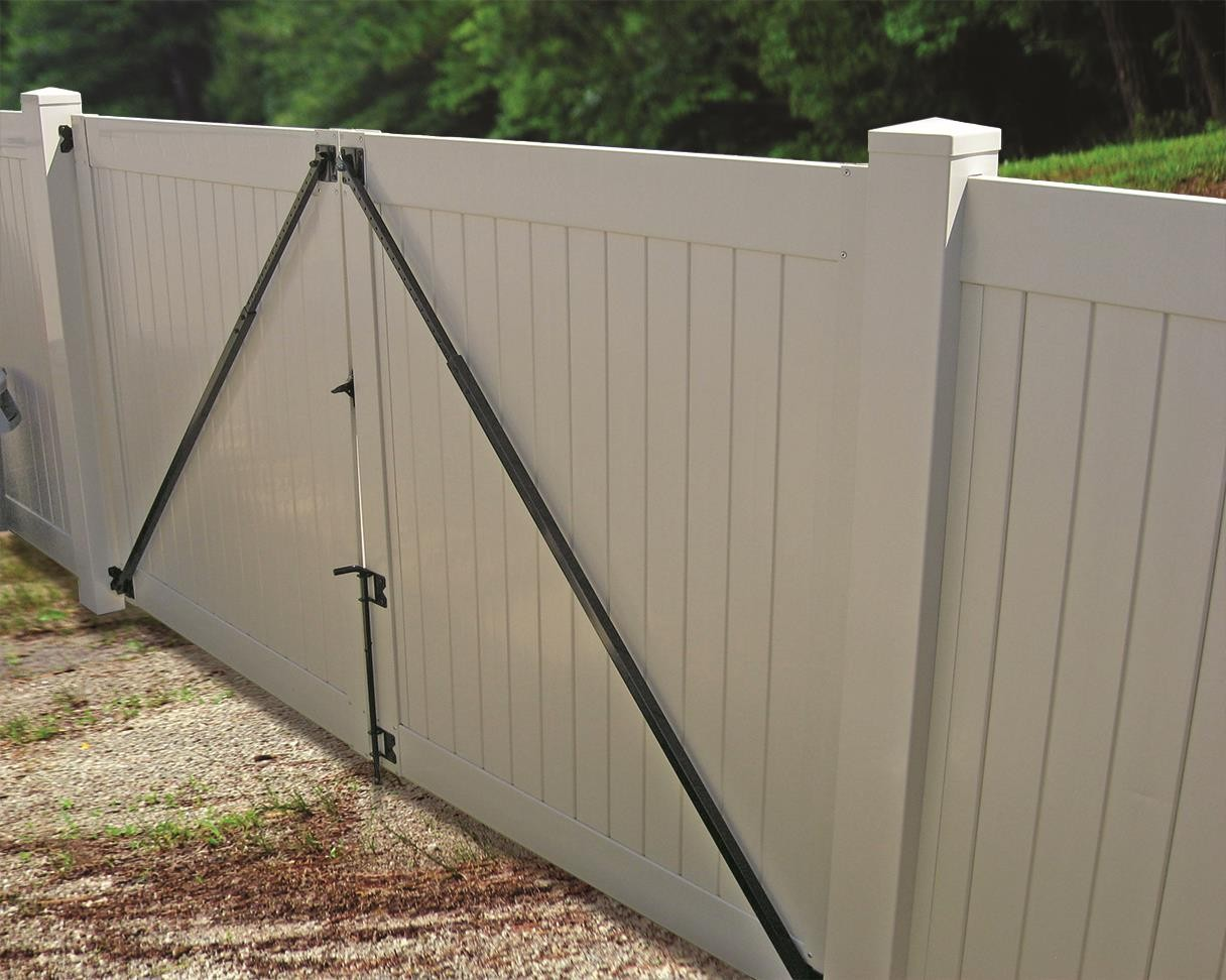 vinyl fence gate installation instructions