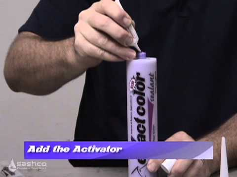 red devil create a color caulk instructions