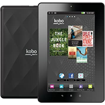kobo arc ereader instructions