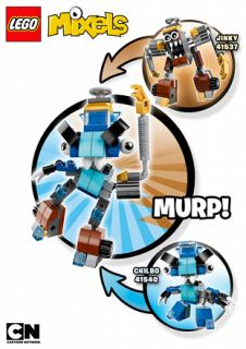 mixels mix building instructions