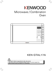 kenwood microwave oven instructions