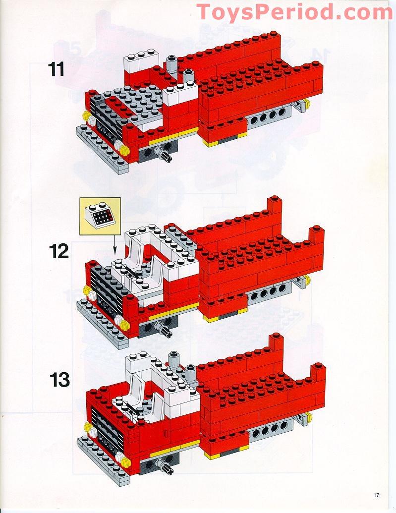 basic lego set instructions