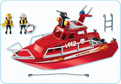playmobil rescue boat instructions