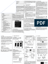 thermor weather station instruction manual