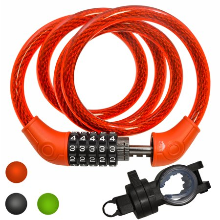 codi 4 digit combination cable lock instructions