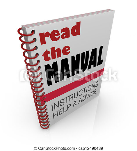how to read instruction manuals