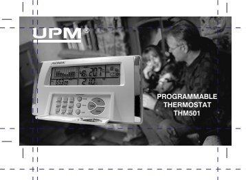noma thm 501 manuel instructions francais