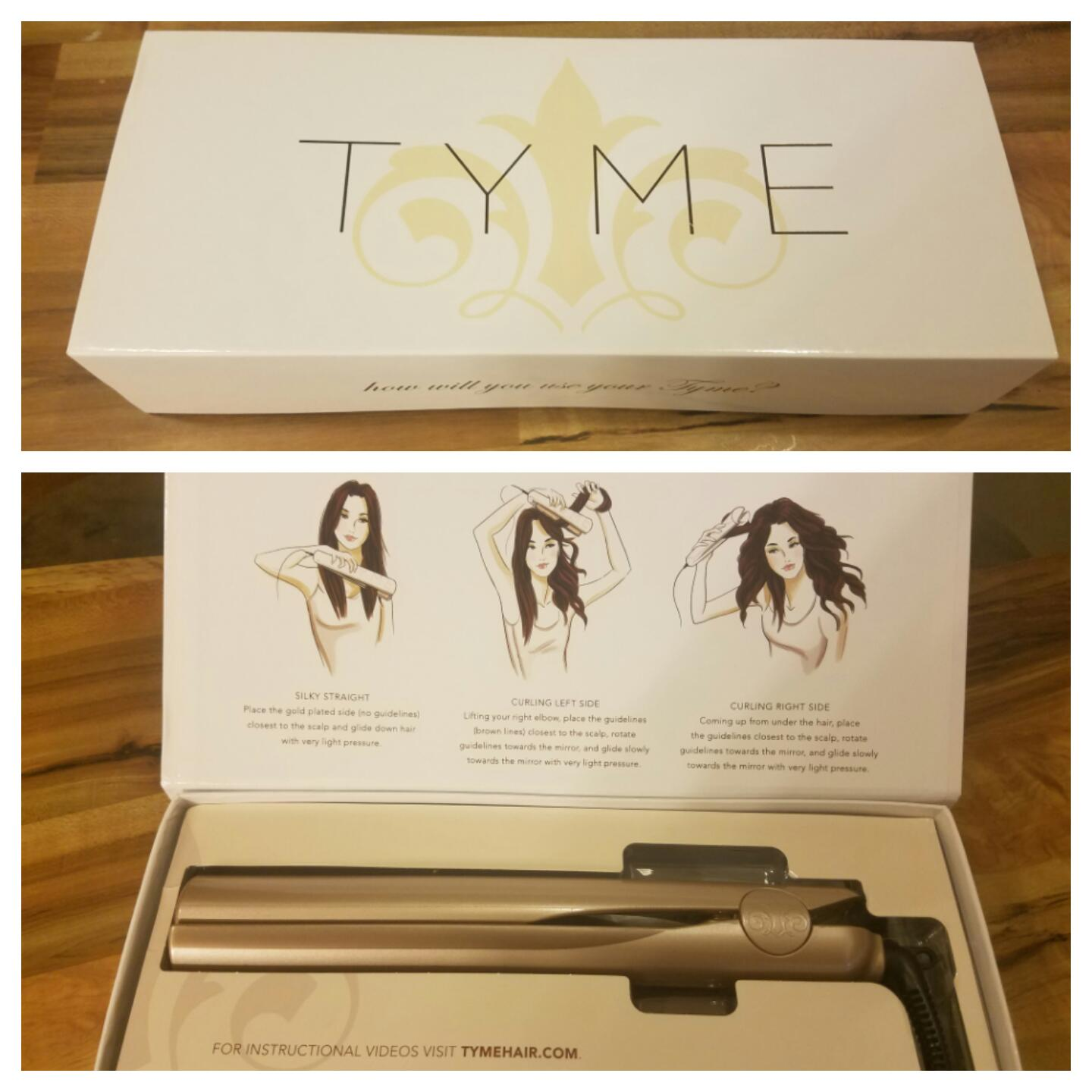 tyme curling iron instructions