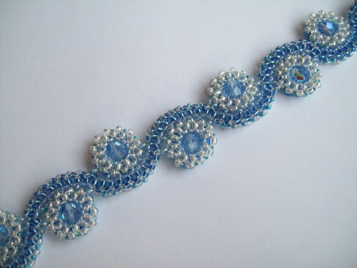 beaded wave ring instructions