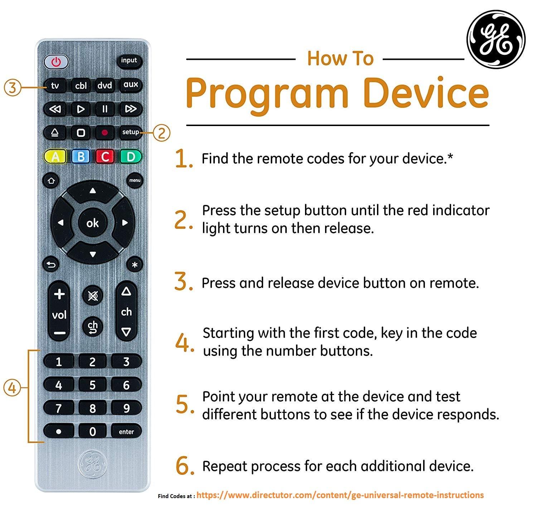 blackweb 6 device universal remote instructions