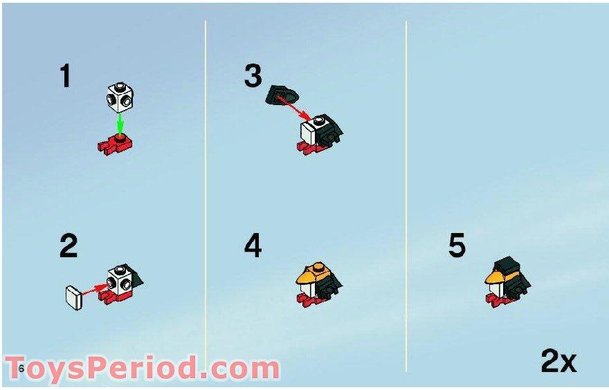 lego batman penguin set instructions