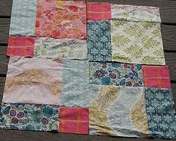 disappearing 4 patch quilt instructions using 2 fabrics
