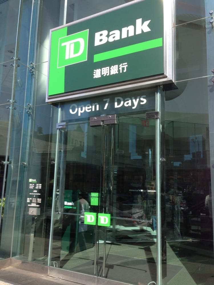 td bank instruction number