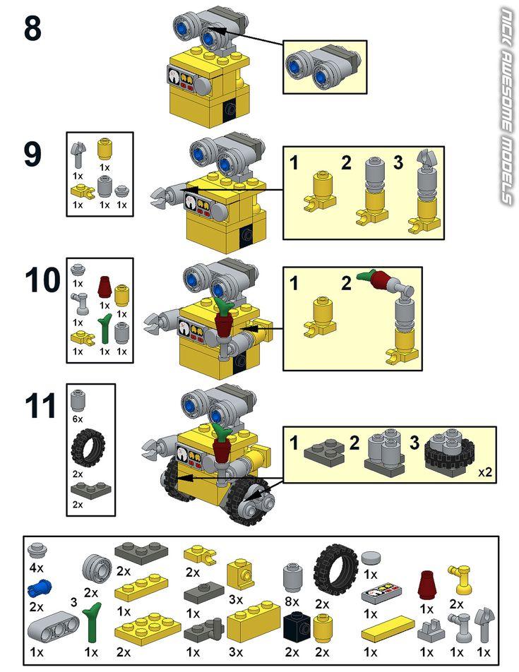 easy lego plane instructions