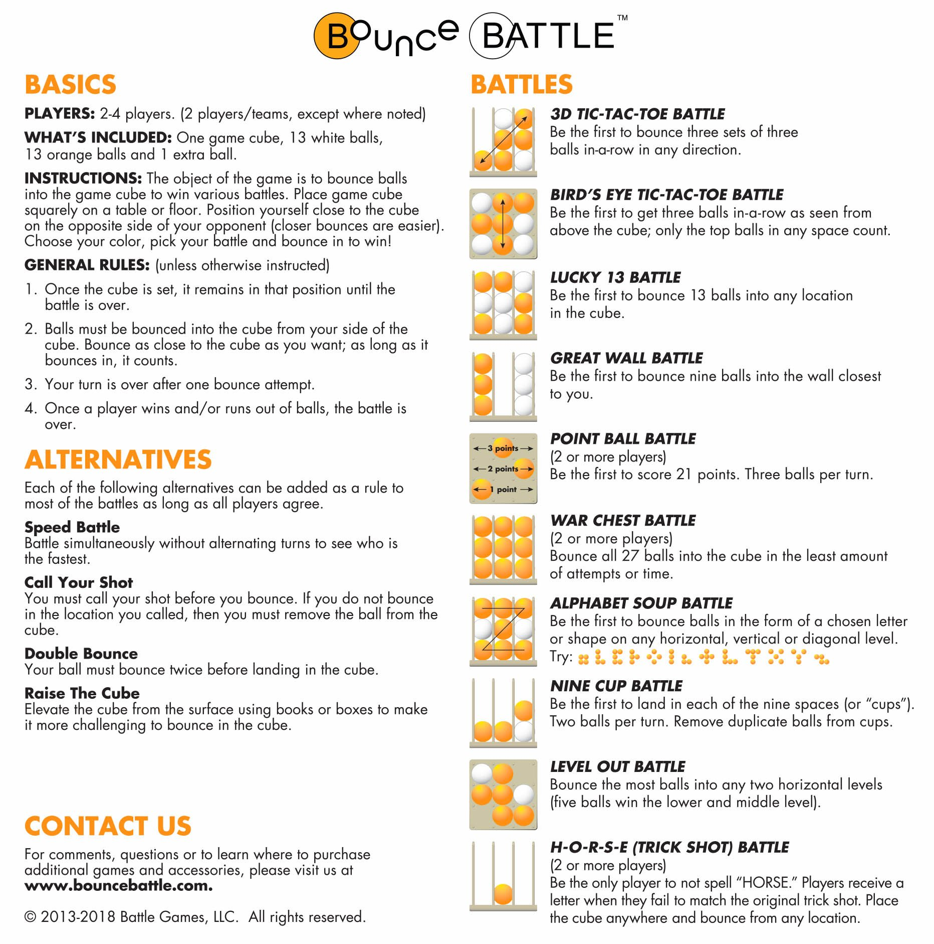 bop it bounce game instructions