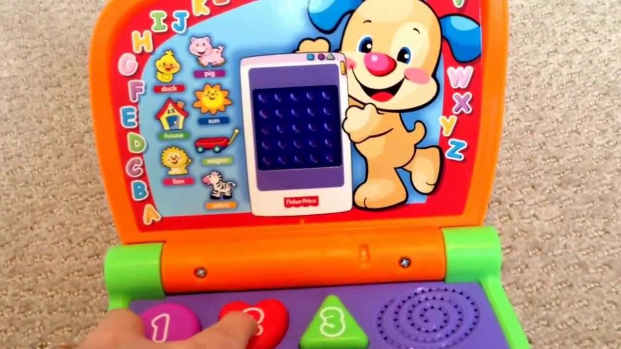 fisher price fun 2 learn laptop instructions