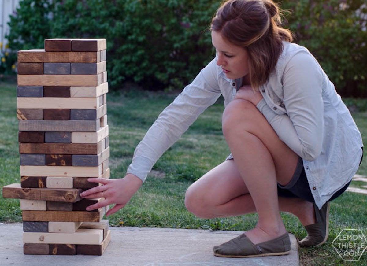 instruction jenga cubes irwin