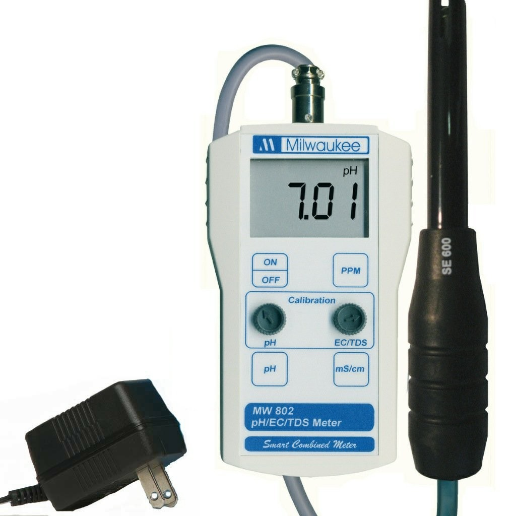 instructions on how hm digital ph temp meter works