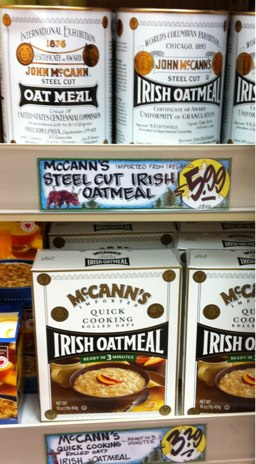 irish oatmeal cooking instructions