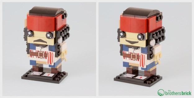 lego brickheadz jack sparrow instructions
