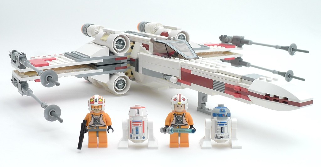 lego star wars x wing fighter instructions 9493