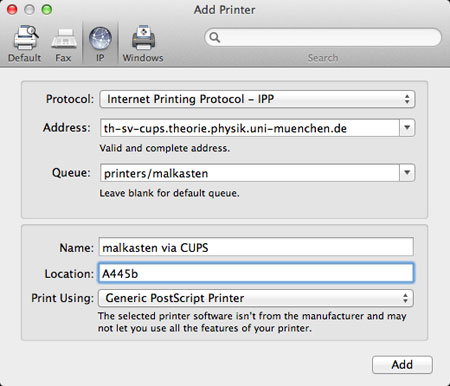 mac mail all printer instructions