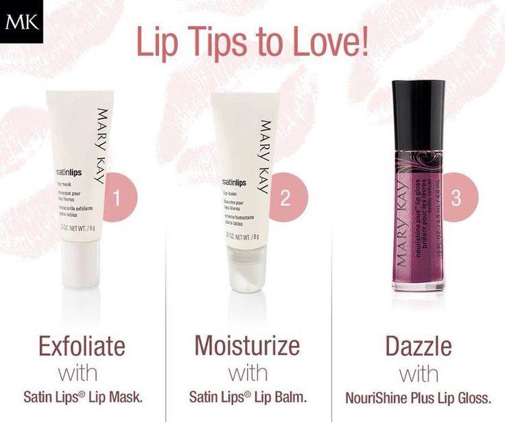 mary kay satin lips lip mask instructions