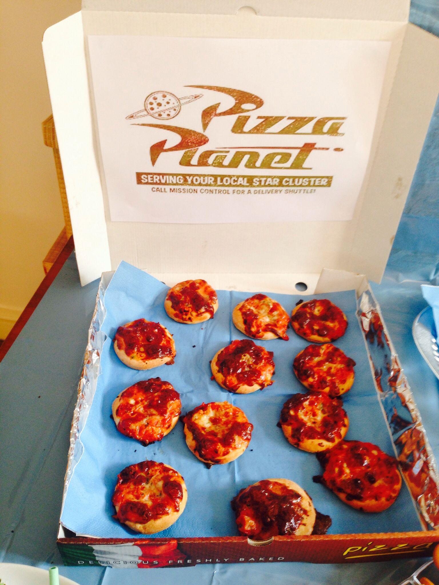 mini pizza box instructions