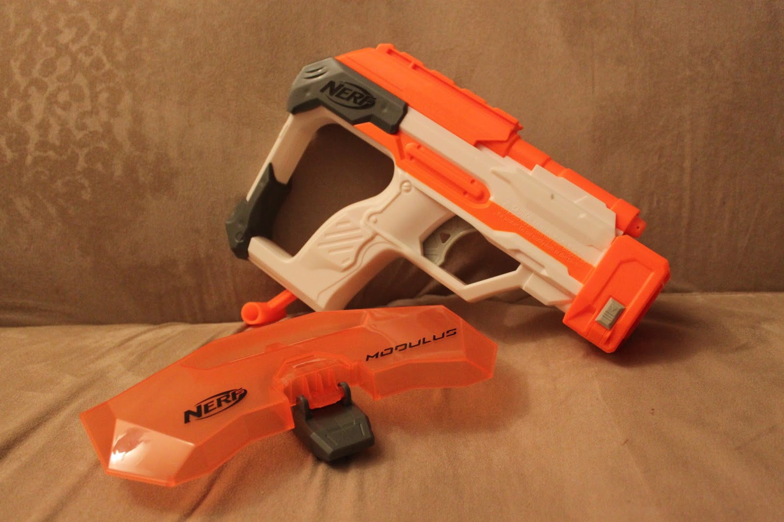 nerf gun modulus instructions