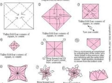 origami rose instructions with stem