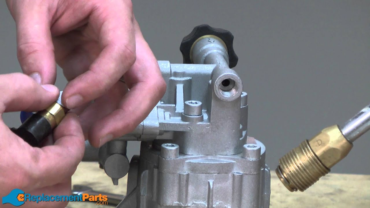 pressure washer pump replacement instructions