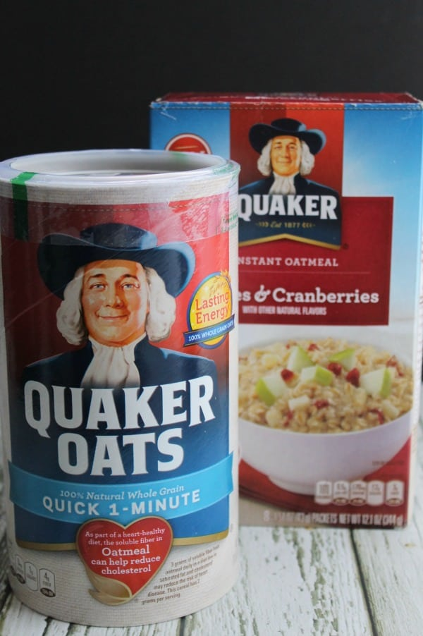 quaker oatmeal instructions microwave