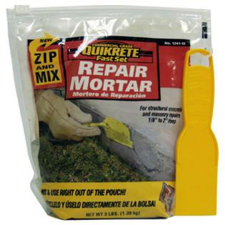 quikrete 1241 mortar repair instructions